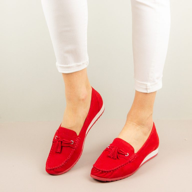 Мокасини Caprice 9-24250-524 Red Suede #1