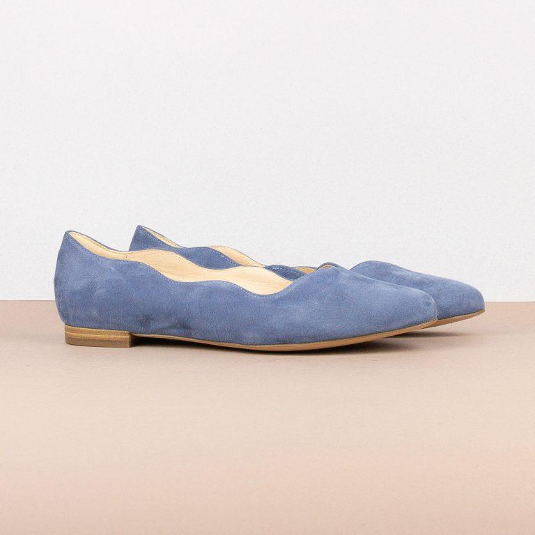 Балетки Caprice 9-24201-818 Blue Suede #1