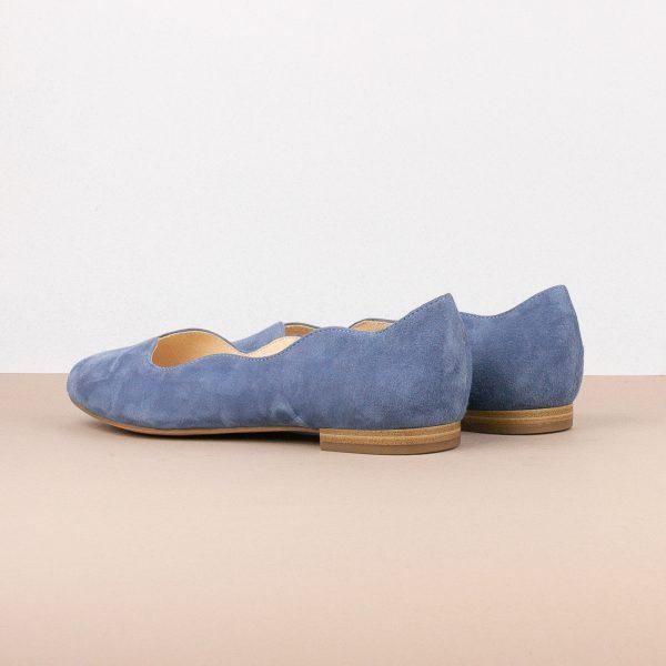 Балетки Caprice 9-24201-818 Blue Suede #2
