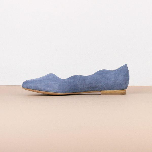 Балетки Caprice 9-24201-818 Blue Suede #4