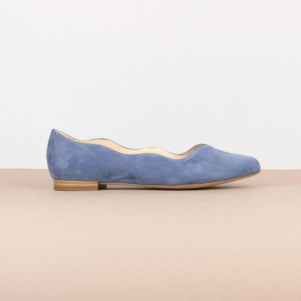 Балетки Caprice 9-24201-818 Blue Suede #3