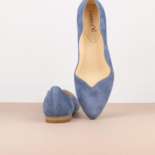 Балетки Caprice 9-24201-818 Blue Suede #6