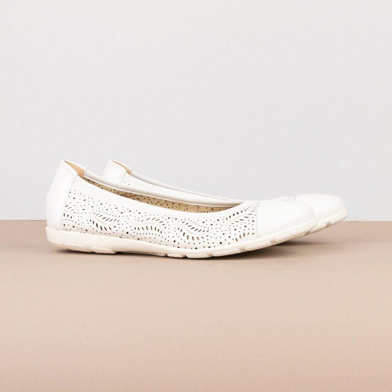 Балетки Caprice 9-22171-102 White Nappa #1