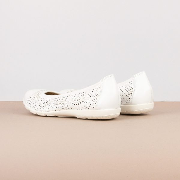 Балетки Caprice 9-22171-102 White Nappa #2