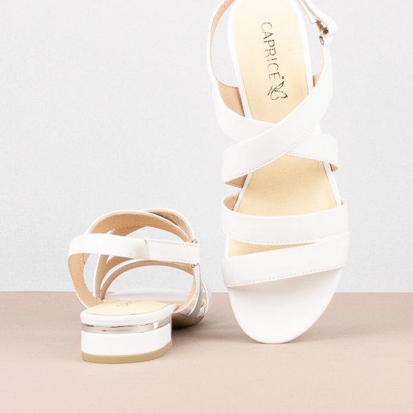 Сандалі Caprice 9-28100-102 White Nappa #6