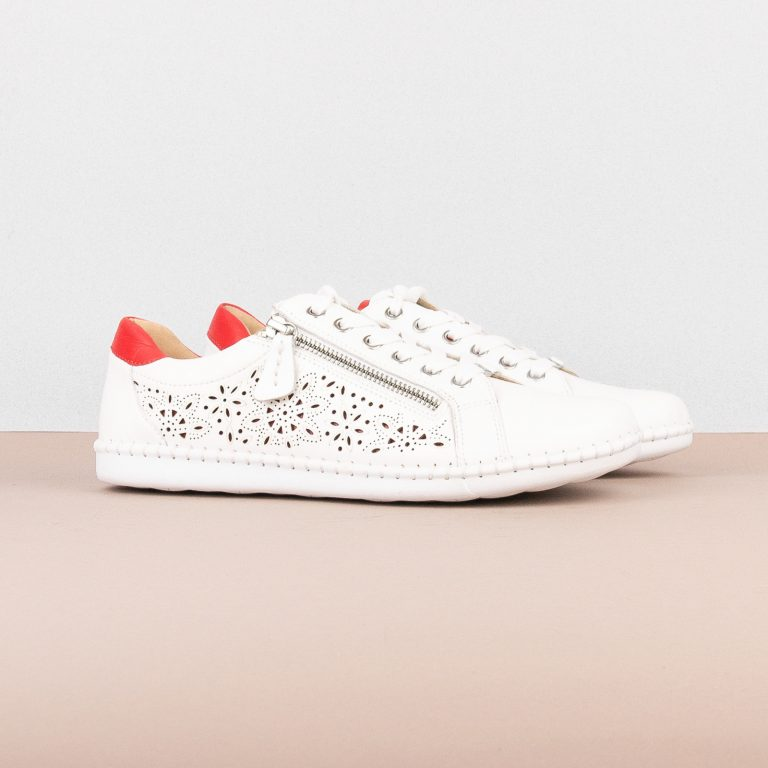 Снікерси Caprice 9-23653-151 White/Red #1