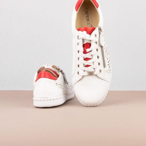 Снікерси Caprice 9-23653-151 White/Red #6