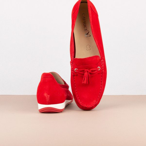 Мокасини Caprice 9-24250-524 Red Suede #7