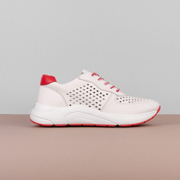 Кросівки Caprice 9-23500-151 White/Red #4