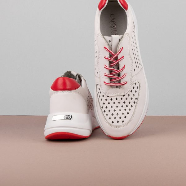 Кросівки Caprice 9-23500-151 White/Red #7