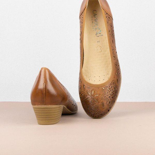 Туфлі Caprice 9-22504-327 Nut Nappa #6