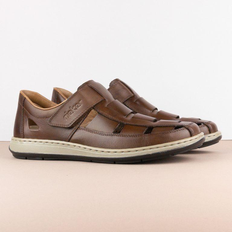 Чоловічі сандалі Rieker 17387-25 brown #1