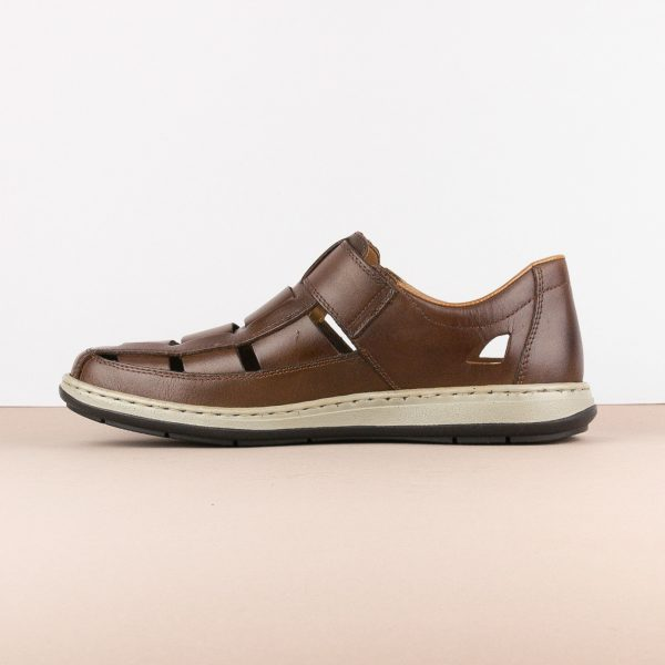 Чоловічі сандалі Rieker 17387-25 brown #4