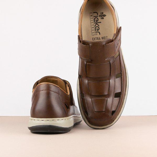 Чоловічі сандалі Rieker 17387-25 brown #6