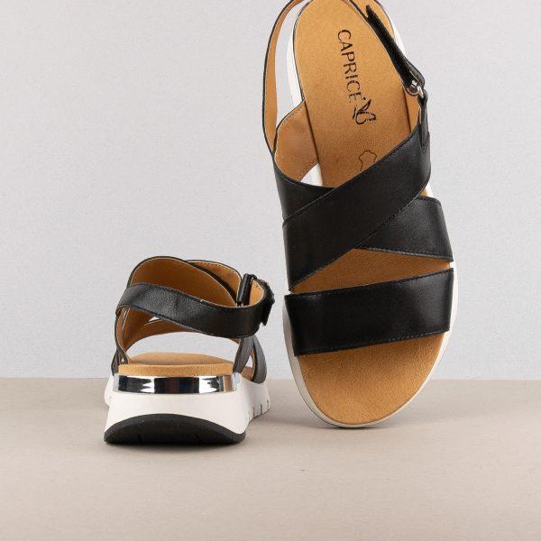 Сандалі Caprice 9-28700-091 Black Mettalic #6