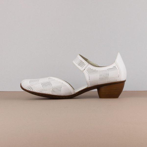 Туфлі Rieker 43767-80 White #4