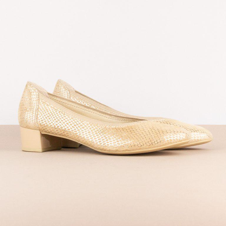 Жіночі туфлі Caprice 9-24301-424 Beige Snake #1