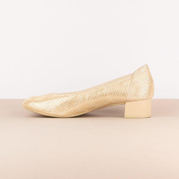 Жіночі туфлі Caprice 9-24301-424 Beige Snake #4