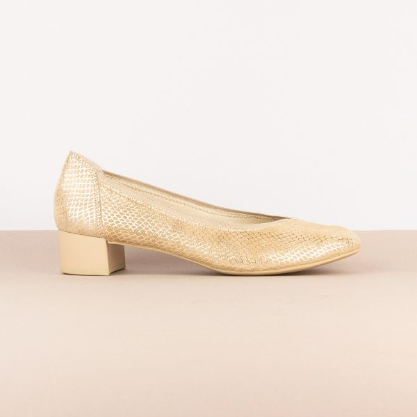 Жіночі туфлі Caprice 9-24301-424 Beige Snake #3