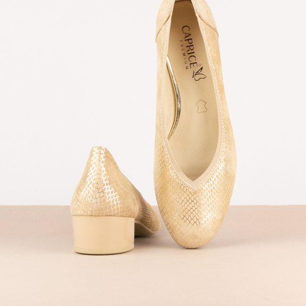 Жіночі туфлі Caprice 9-24301-424 Beige Snake #6