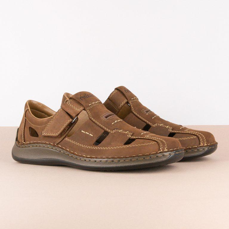 Чоловічі сандалі Rieker 05284-25 brown #1