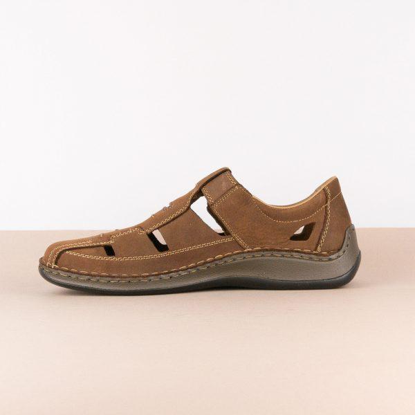 Чоловічі сандалі Rieker 05284-25 brown #4