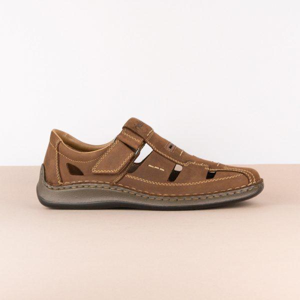Чоловічі сандалі Rieker 05284-25 brown #3