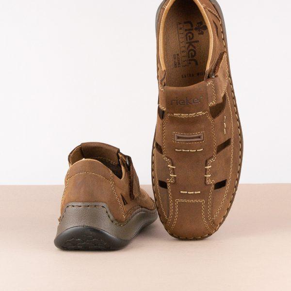 Чоловічі сандалі Rieker 05284-25 brown #6