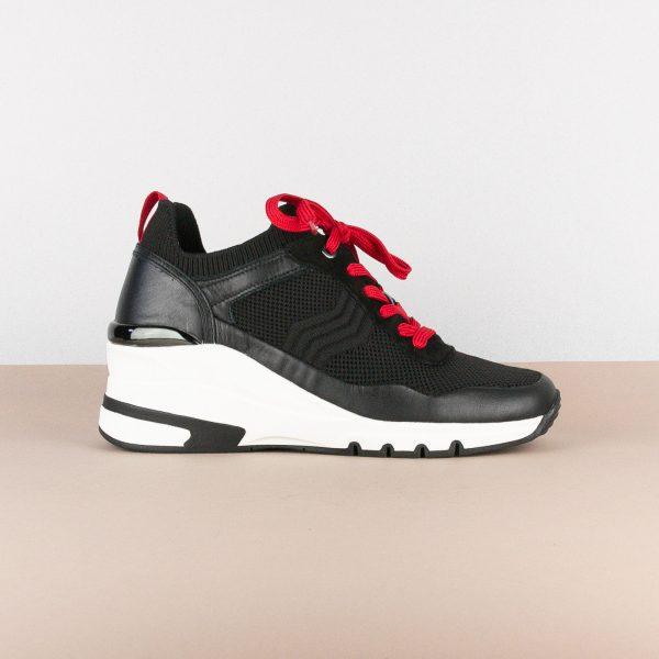 Кросівки Caprice 9-23709-023 Black/Red #4