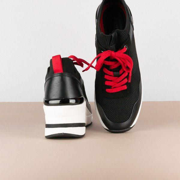 Кросівки Caprice 9-23709-023 Black/Red #7