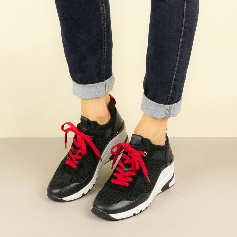 Кросівки Caprice 9-23709-023 Black/Red #1