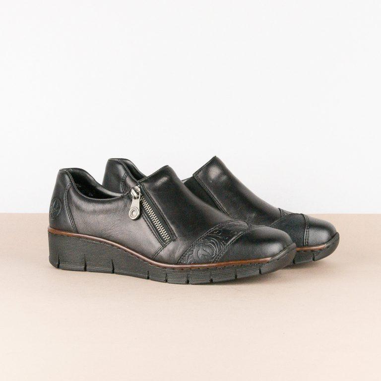 Туфлі Rieker 53761-00 Black #1