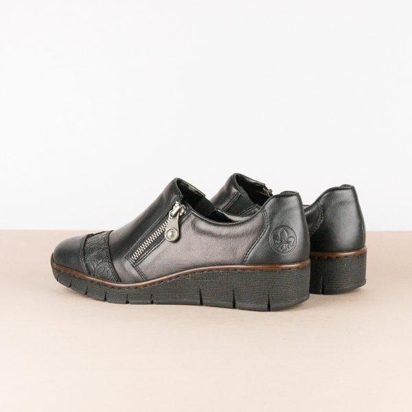 Туфлі Rieker 53761-00 Black #2