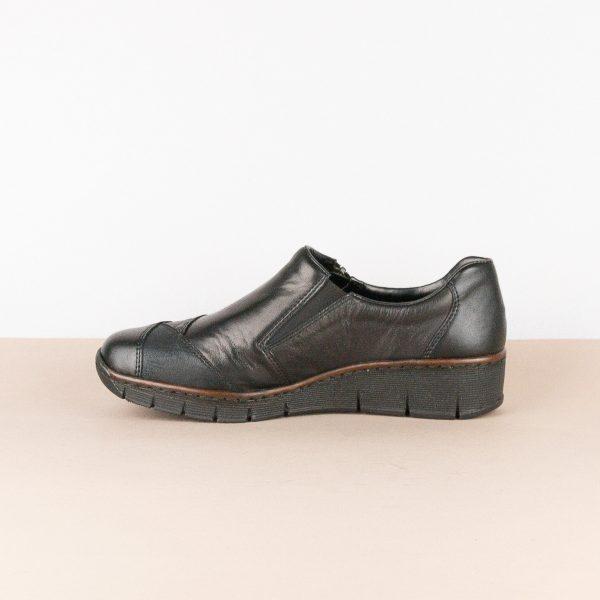 Туфлі Rieker 53761-00 Black #4