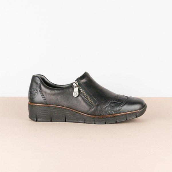 Туфлі Rieker 53761-00 Black #3