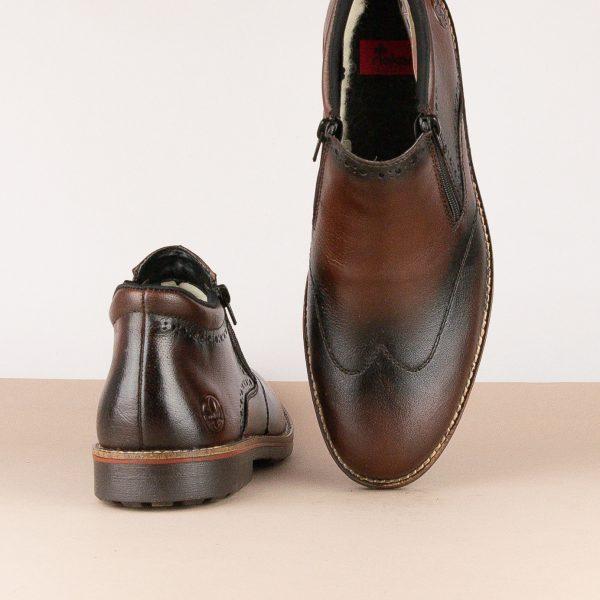 Черевики Rieker 15390-25 brown #6
