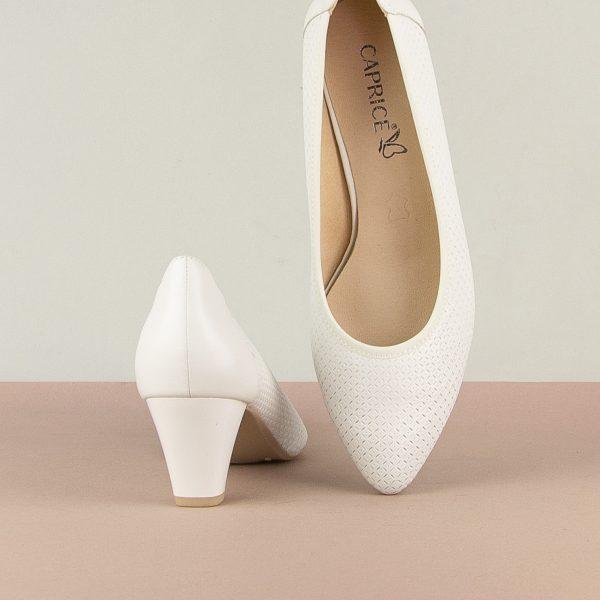 Туфлі Caprice 9-22503-102 White Nappa #5