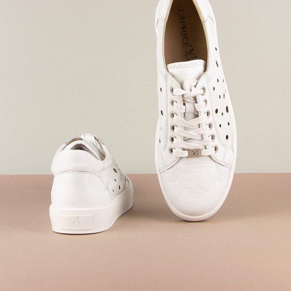 Снікерси Caprice 9-23651-102 White Nappa #6