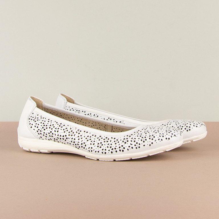 Балетки Caprice 9-22156-102 White Nappa #1