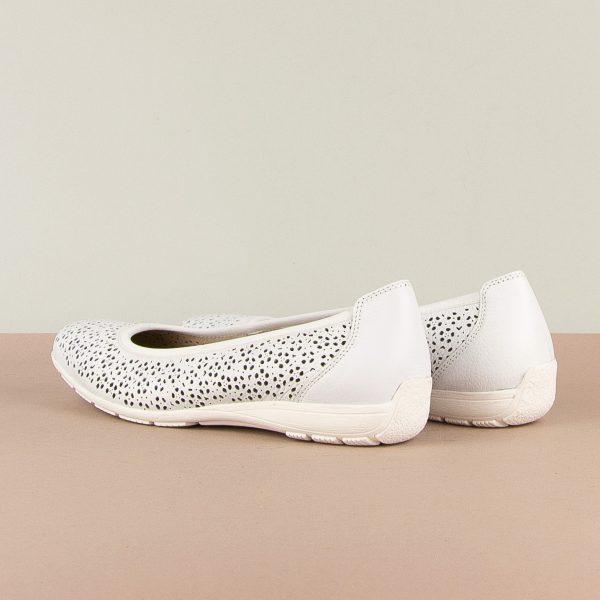 Балетки Caprice 9-22156-102 White Nappa #2