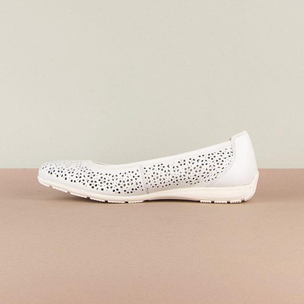 Балетки Caprice 9-22156-102 White Nappa #3