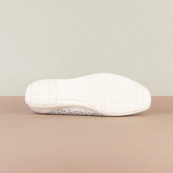 Балетки Caprice 9-22156-102 White Nappa #5