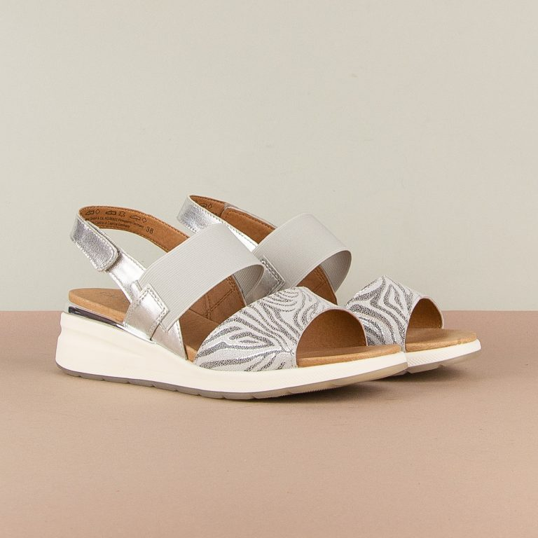 Сандалі Caprice 9-28306-943 Silver Comb #1