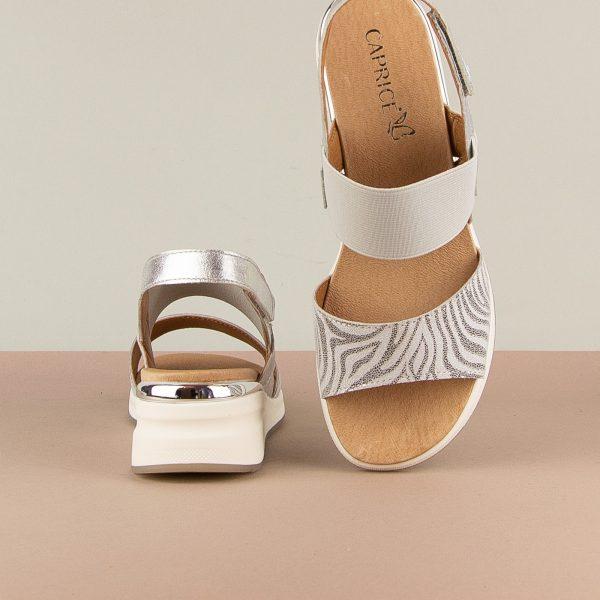 Сандалі Caprice 9-28306-943 Silver Comb #6