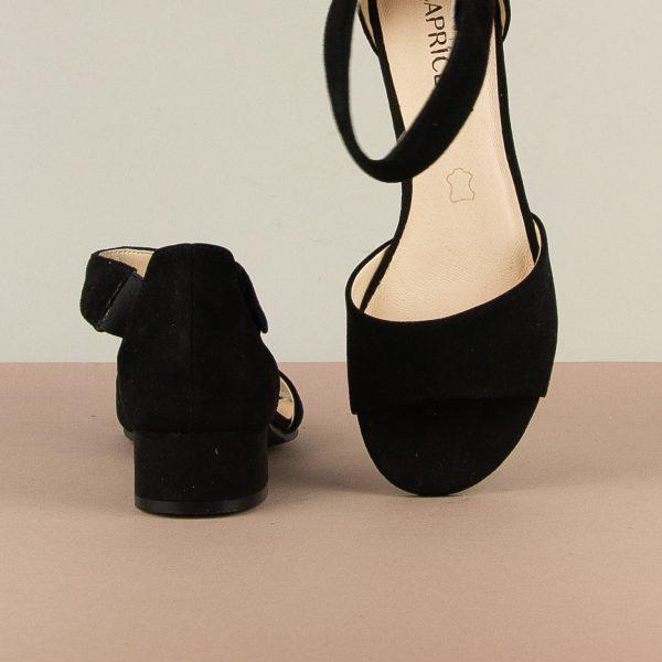 Босоніжки Caprice 9-28212-004 Black Suede #6