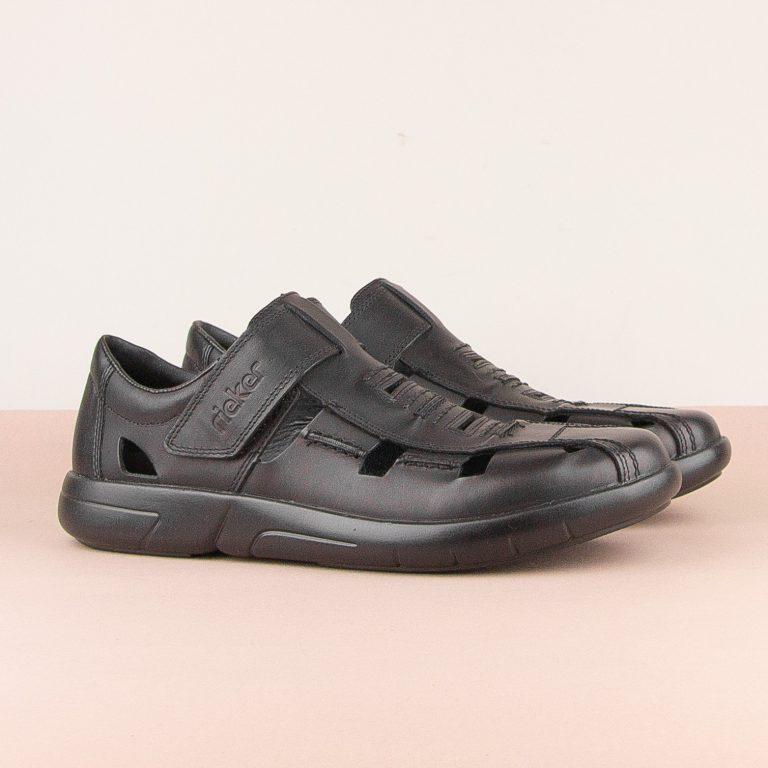 Чоловічі сандалі Rieker B2783-00 Black #1