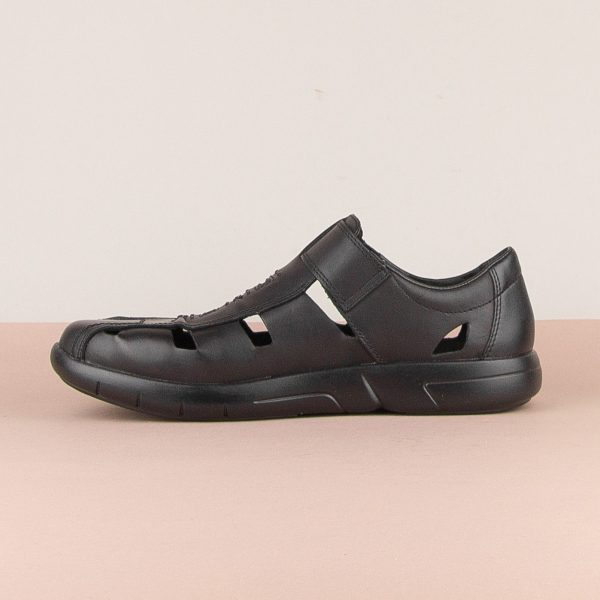 Чоловічі сандалі Rieker B2783-00 Black #4