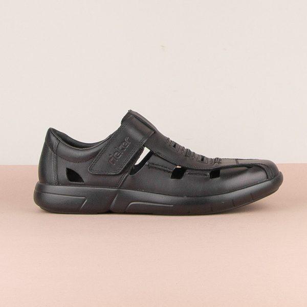 Чоловічі сандалі Rieker B2783-00 Black #3