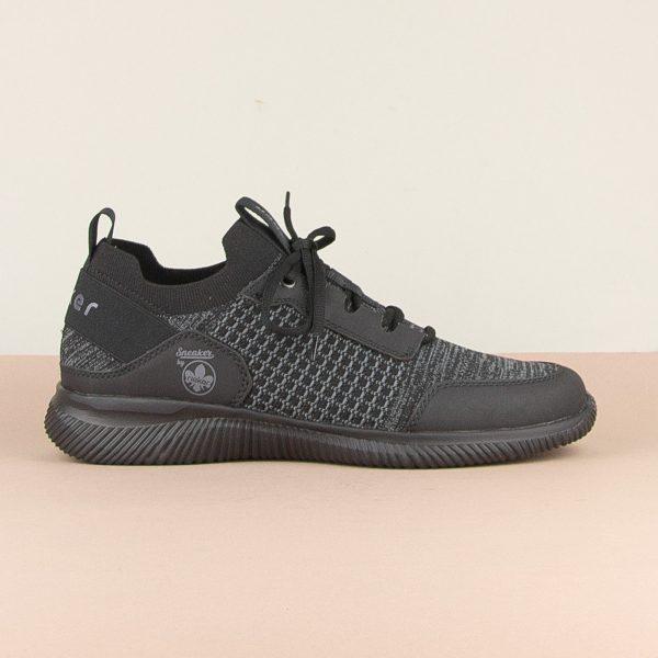 Кросівки Rieker B7475-00 Black #4