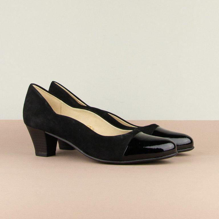 Туфлі Caprice 9-22410-065 Black Sue.Comb #1